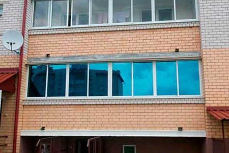 Тонировка стекол балкона своими руками 33